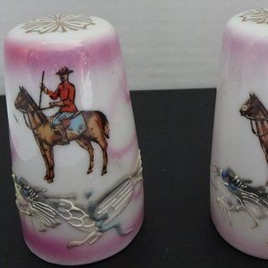 VINTAGE RCMP S&P SHAKERS